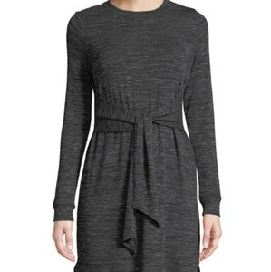 Max studio tie-front knit dress